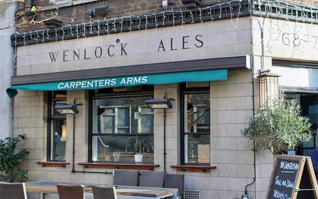 The Carpenters Arms - Pubs in Fitzrovia