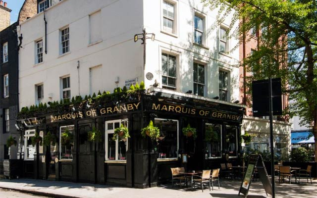 Marquis of Granby - Pubs in Fitzrovia