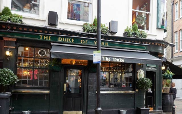 The Duke of York - Pubs in Fitzrovia