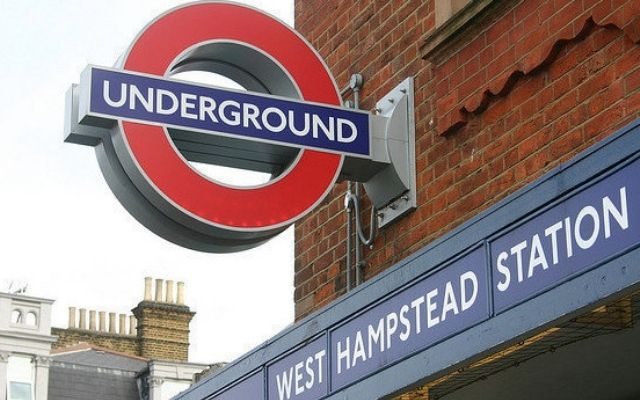 Pubs in West Hampstead - West Hampstead Tube Station Signs