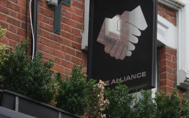 The Alliance West Hampstead Pub Sign